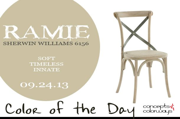 Best Color of the Day {Ramie | Tan paint colors, Tan paint and Paint stain FC59