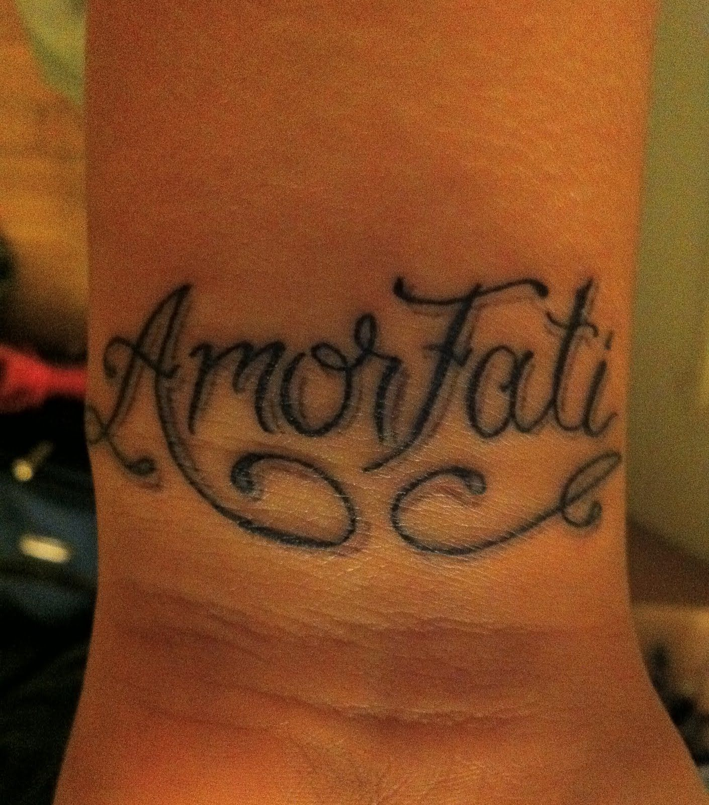 """Amor fati is a Latin phrase loosely translating to """"love"""