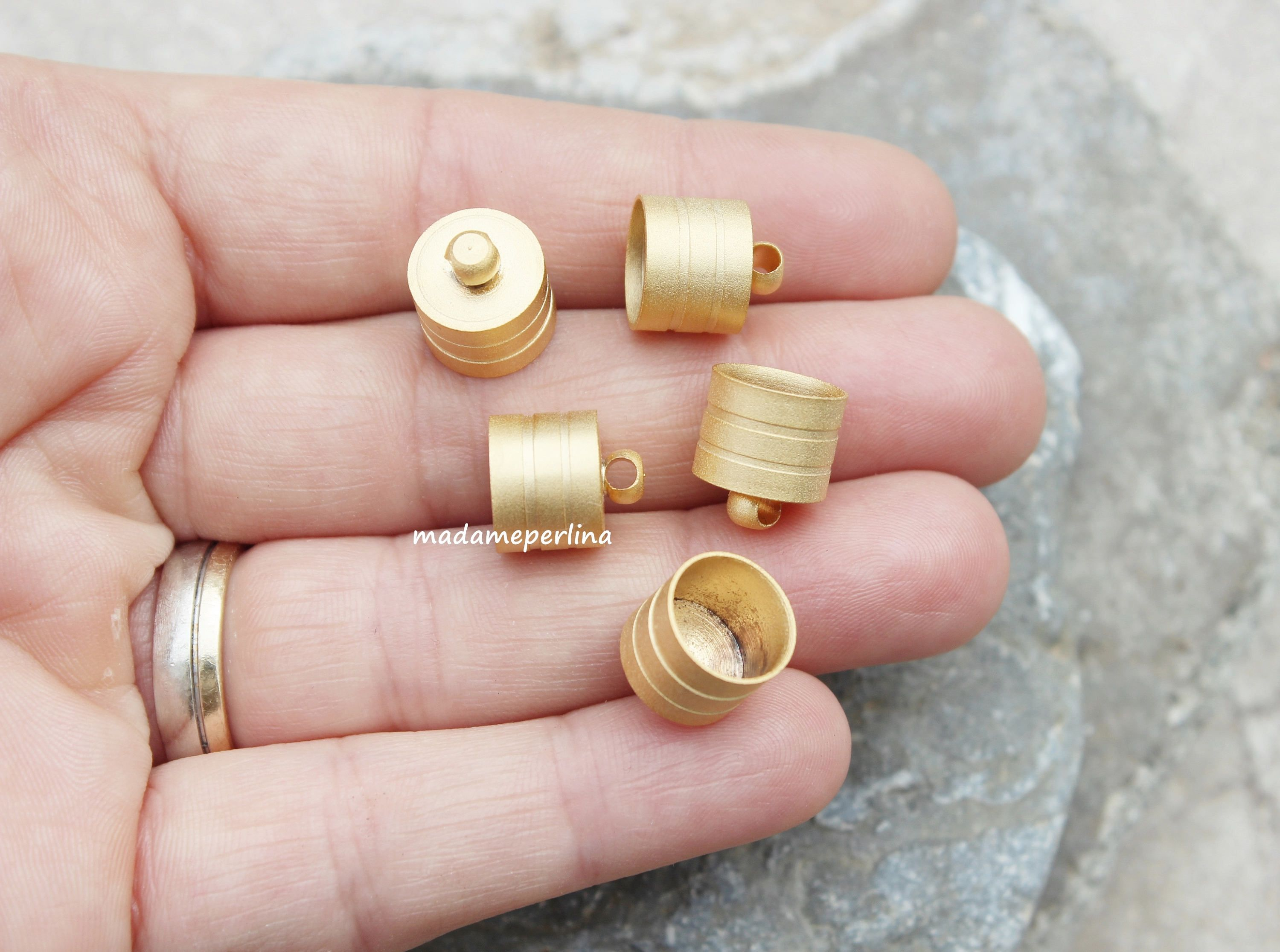 39+ Bead end caps for jewelry ideas in 2021