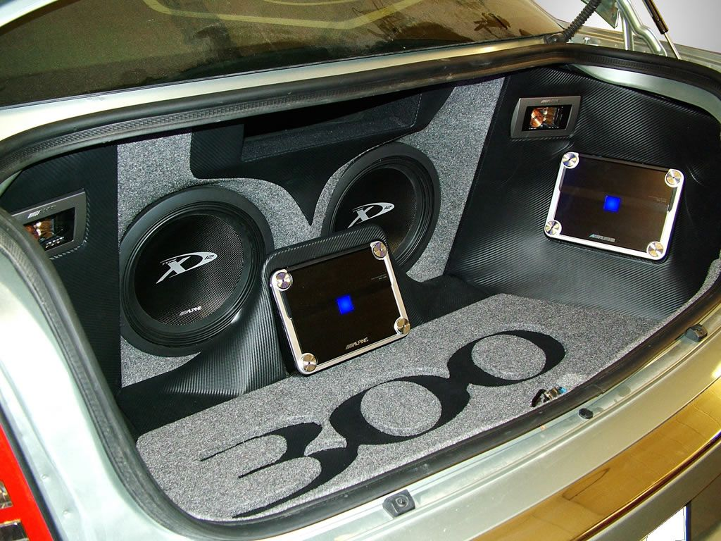 Car Audio Custom installs: a collection of ideas to try ... |Stormtrooper Car Audio Custom Trunk Install