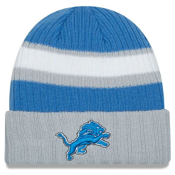 Detroit Lions New Era Rib Start Cuffed Knit Hat - Blue - $19.99