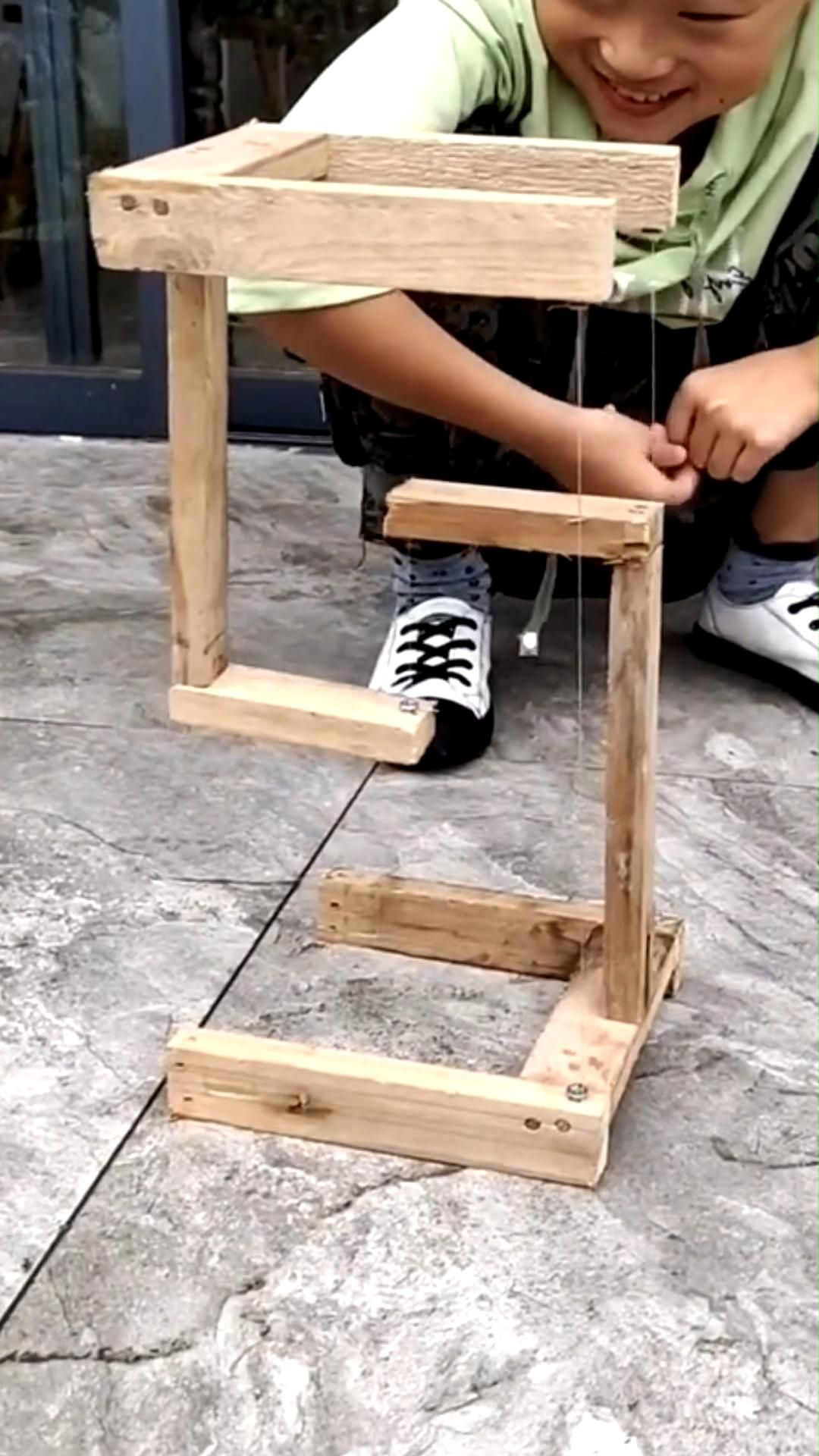 Impossible tension - science for kids
