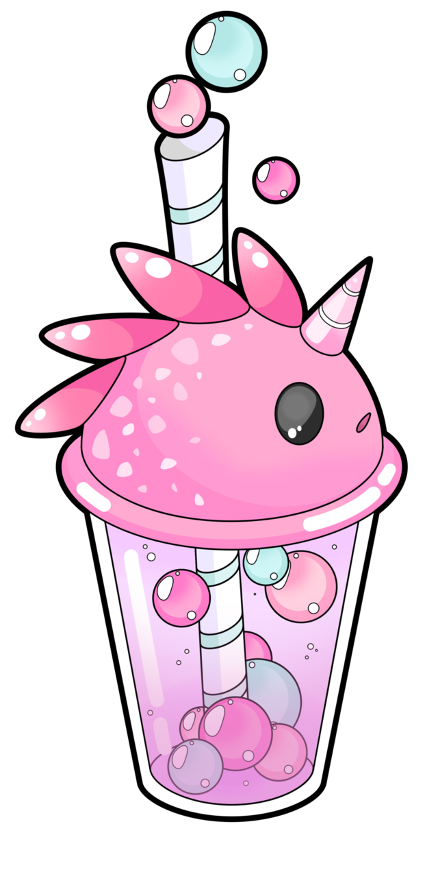 It's just a picture of Epic Boba Tea Drawing