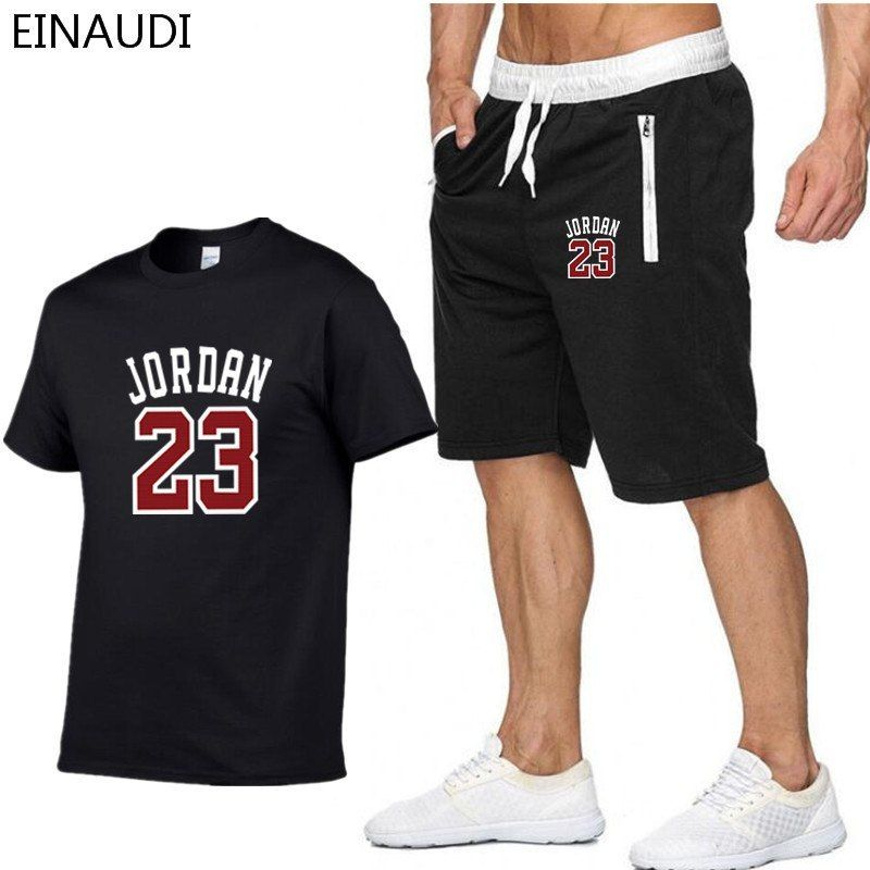 c1244e4b 2019 New Brand Clothing Jordan 23 Men T-shirt Swag T-Shirt Cotton Print
