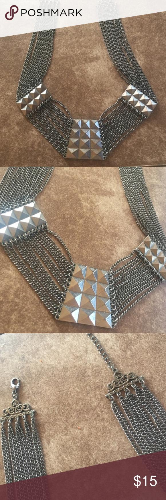 Zara necklace Reposh Zara studded necklace Zara Accessories