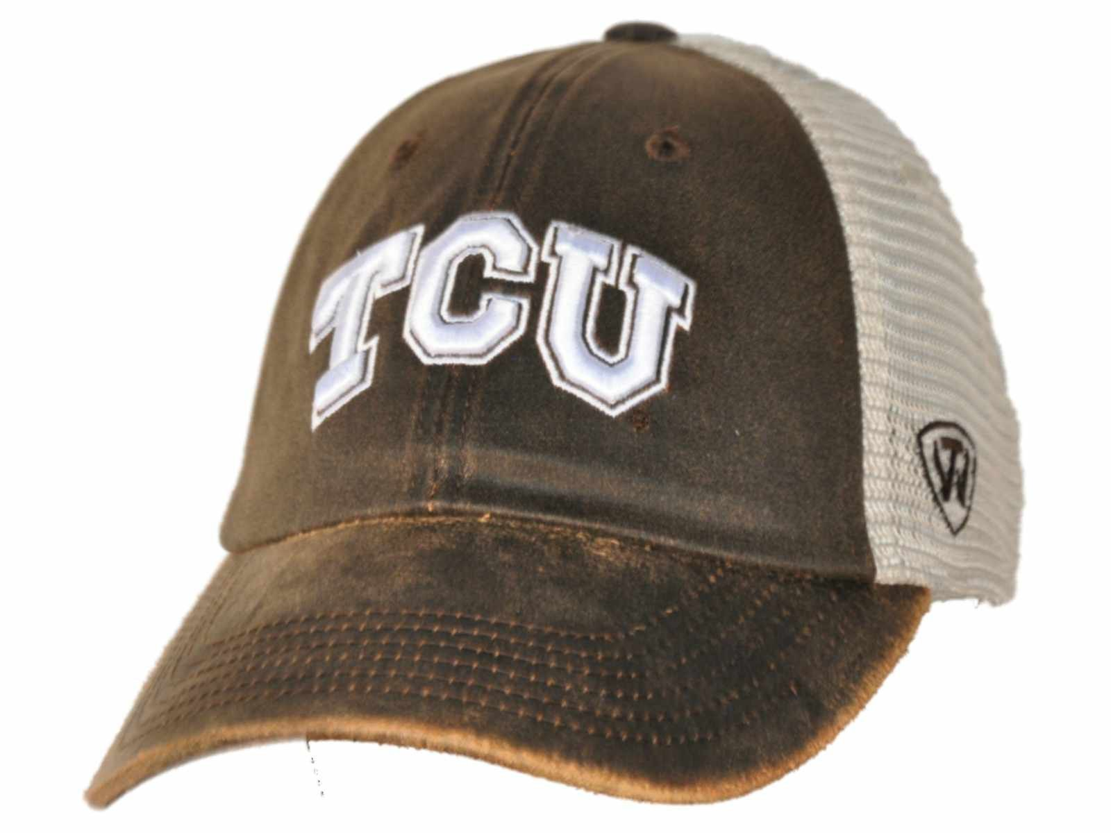 finest selection 4f96b 5b81a Made and Designed by Top of the World. - Size is a One Size Fits All -  Embroidered on the front is a TCU Horned Frogs logo.