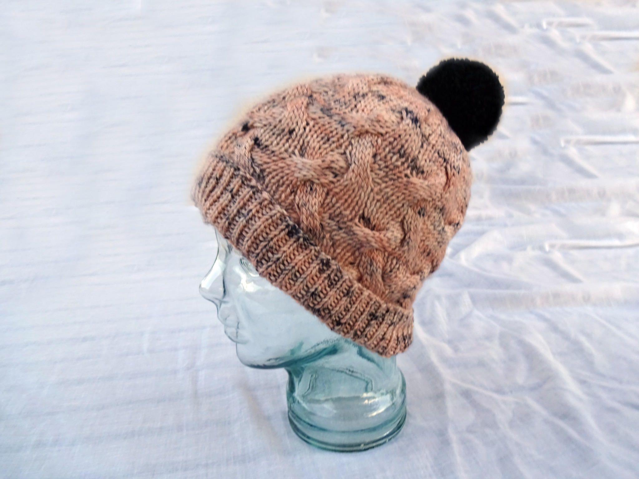 38735a6d2af Knit Wool Hat