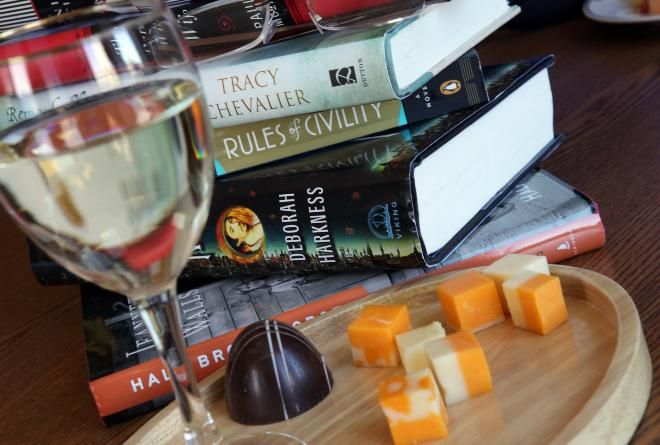 Wine is an essential lubricant for conversation in many book clubs, and so are treats like cheese and chocolate.