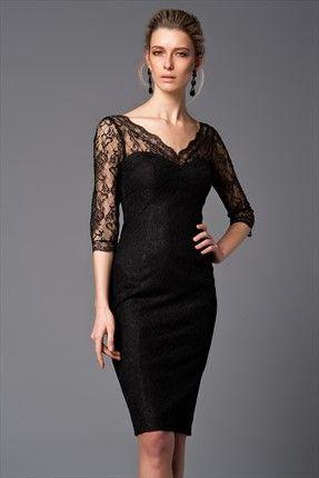 Siyah Elbise Mlwss156940 Elbise Siyah Elbise Elbiseler
