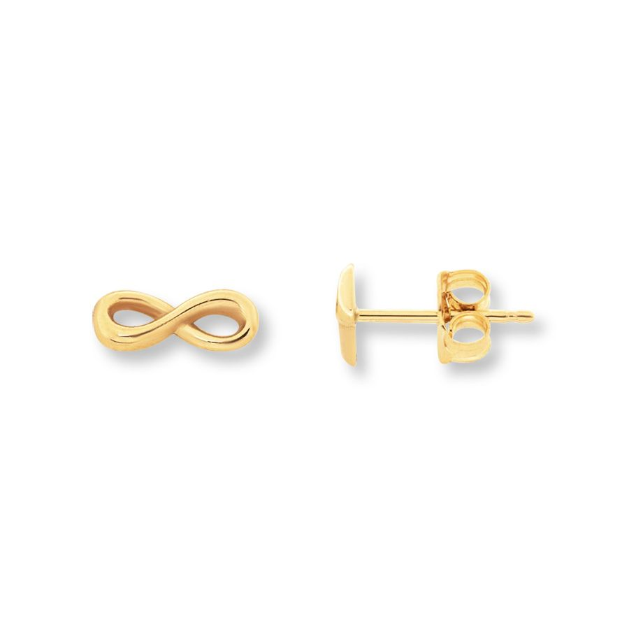 yellow goodwins from earrings gold image stud ladies infinity