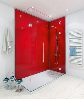 Rote Fugen Im Bad es müssen nicht immer fliesen sein bad und küche moderner look