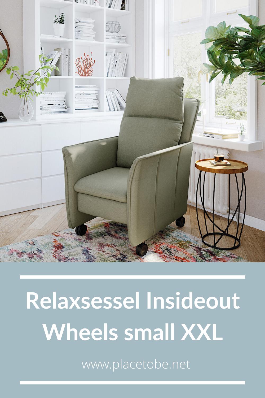 Relaxsessel Insideout Wheels Small Xxl Khaki Manuell 1 121 00 A In 2020 Relaxsessel Xxl Sessel Schlafsessel