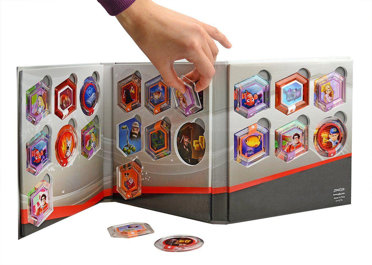 Disney infinity power disk album holds 20 ps3xbox 360