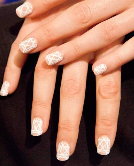 Lacquer Up In the Trendiest Fashion Week Manicures - Bibhu Mohapatra from #InStyle