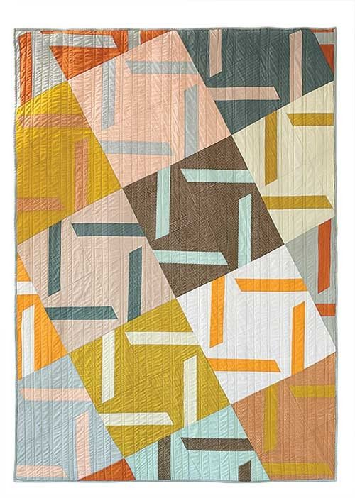 A Closer Look Quilt Pattern Https Www Interweave Com Store A Closer Look Quilt Digital Pattern Quilts Solid Fabric Quilts Modern Quilts