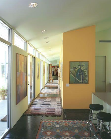 Webber + Studio - Impluvium House   hallway   Pinterest ...