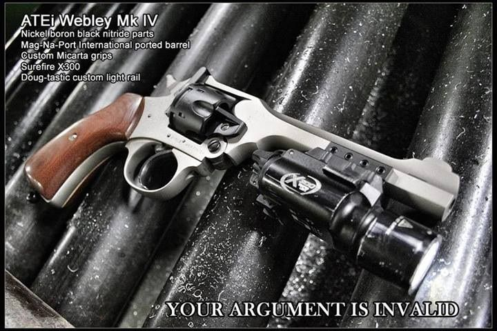 Tac Rail | Gun Porn | Guns, Hand guns, Revolver