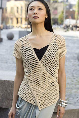 Tokyo Vest pattern by Doris Chan   crochet   Crochet vest