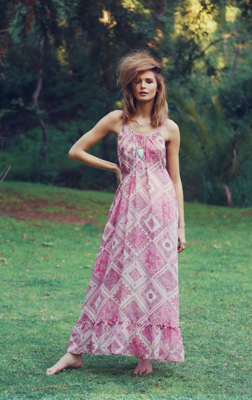 Pink Paisley Hampton Dress