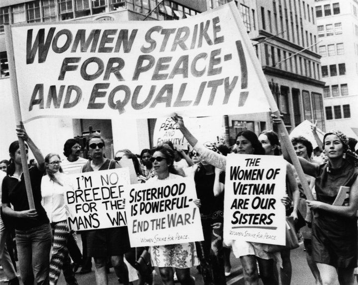 Women's Strike For Peace-And Equality