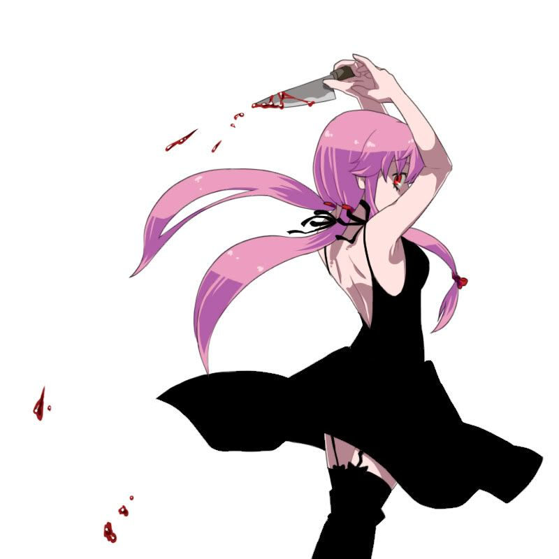 Black dress yuno off of mirai