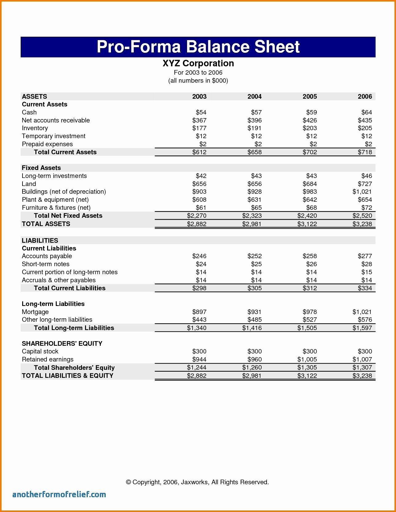 Pro Forma Income Statement Example Inspirational Pro Forma In E Statement Template 2018 Statement Template Financial Statement Income Statement