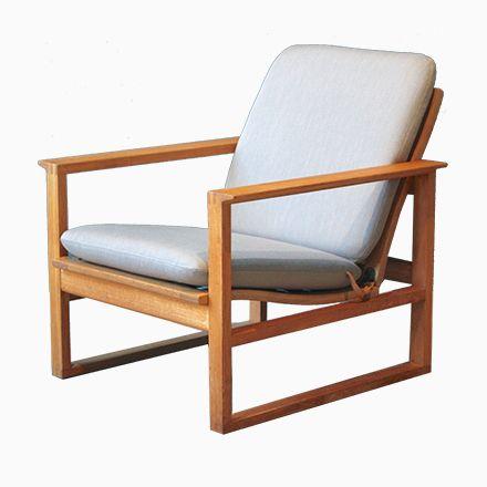 platzsparend ideen sessel de, modell 2256 eiche sessel von børge mogensen für fredericia, 1950er, Innenarchitektur