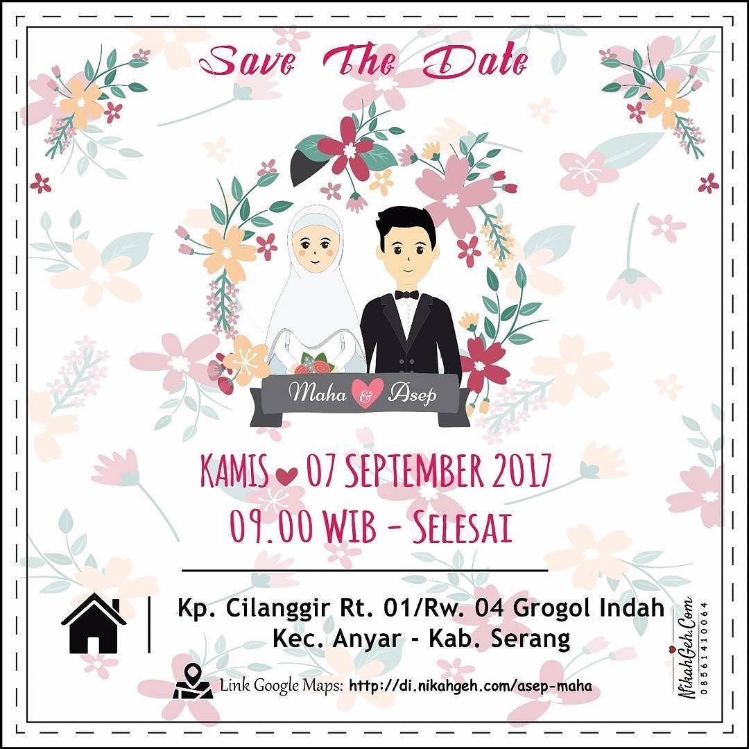 Https Nikahgeh Com E Invitation Maha Asep Tanya Tanya Atau Info Lebih Lanjut Hubung Undangan Pernikahan Undangan Perkawinan Contoh Undangan Pernikahan
