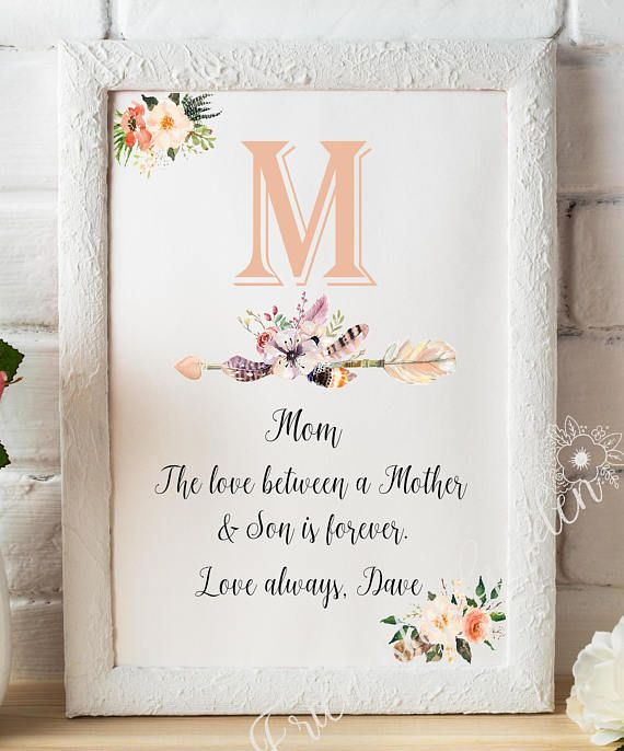 Mom gift From Son Mom Gift for Christmas Gift for Mom Mom Son | Mom ...