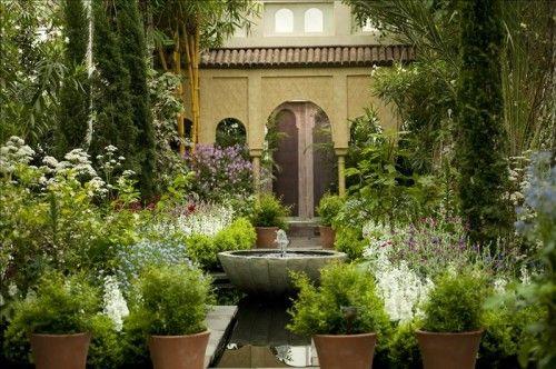 ALHAMBRA- | Jardines Arabes | Pinterest