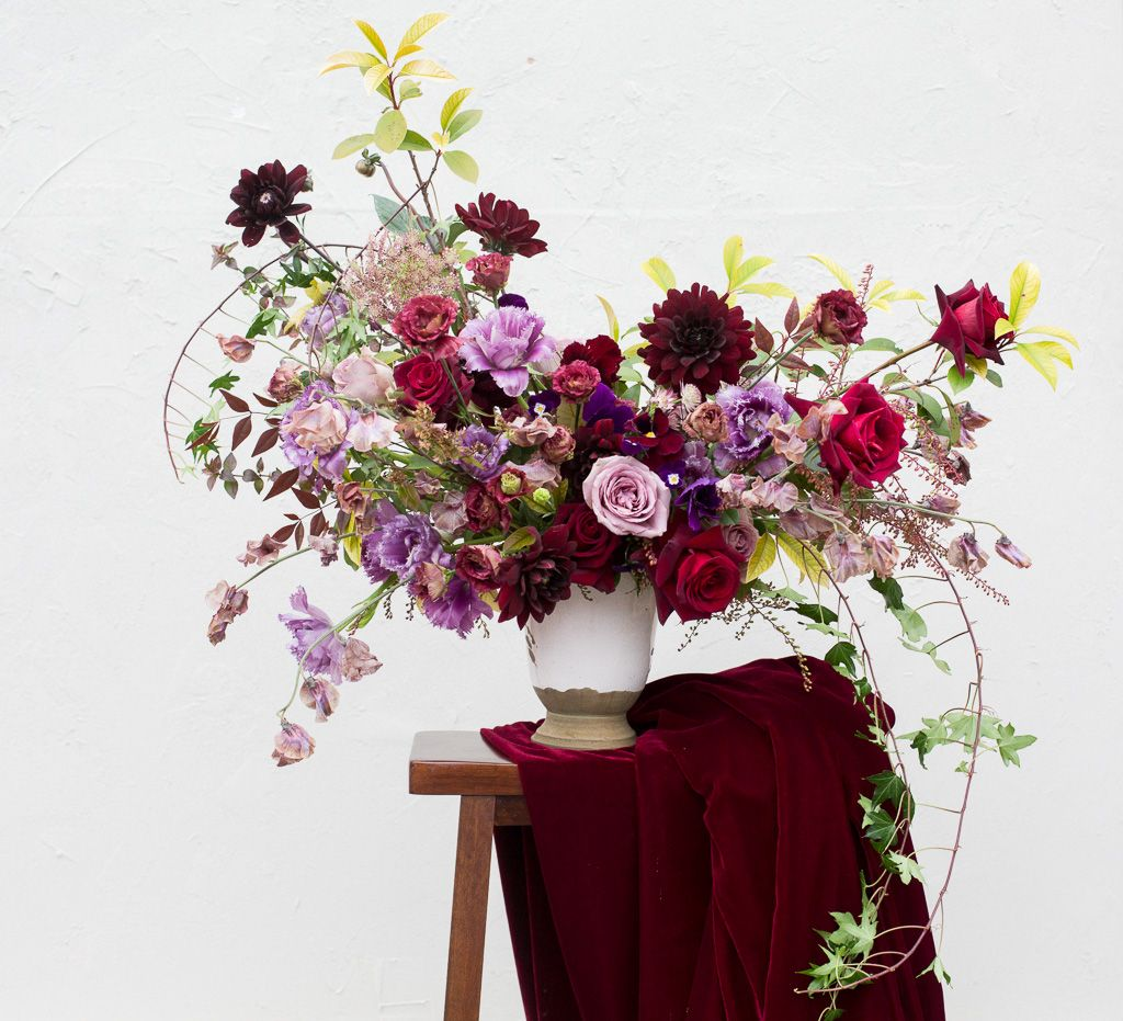 Jewel Tone Wedding Flowers: Jewel Tone Wedding Inspiration