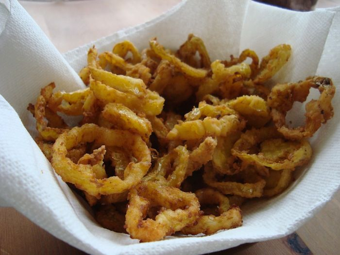 Fry Banana Pepper Rings