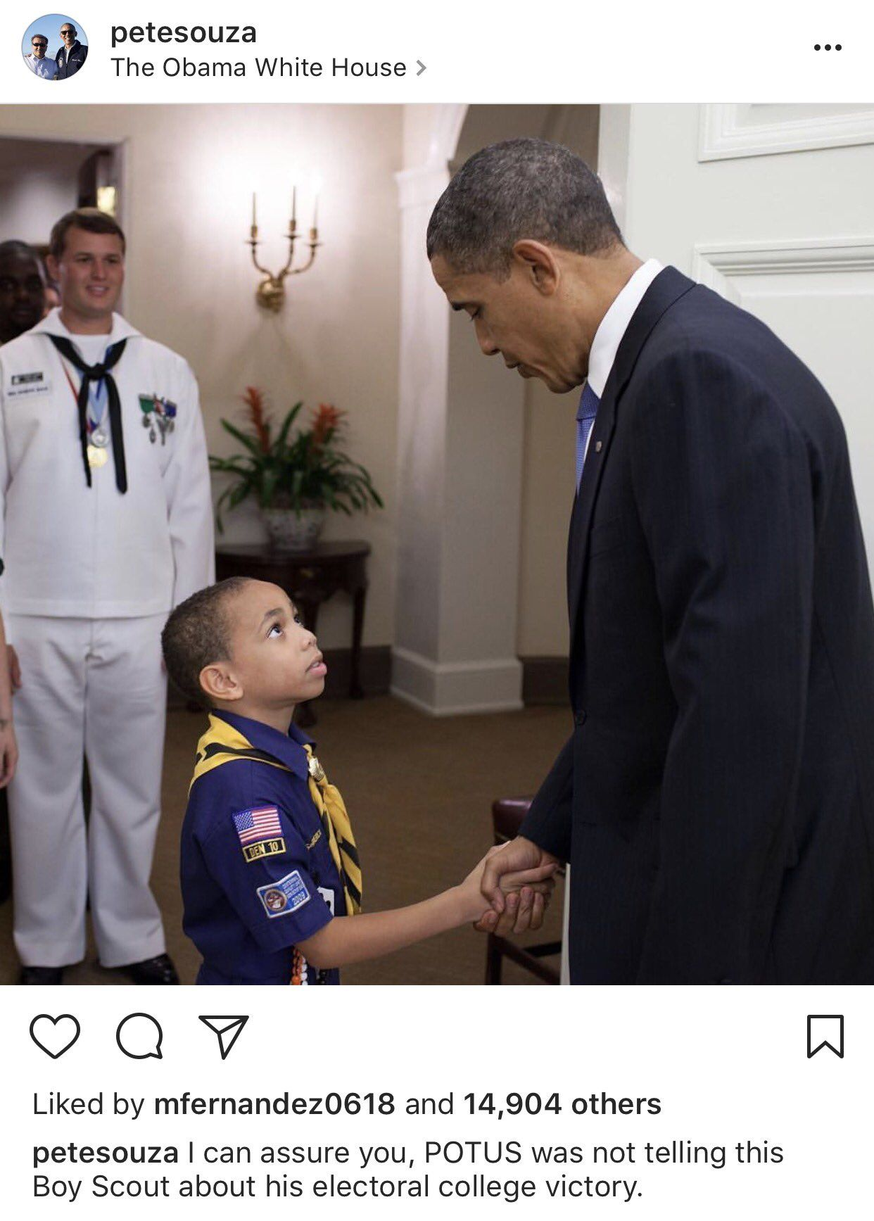 Trump Just Rallied Boy Scouts To Boo Obama. Obama's Photographer's Response Is Perfect