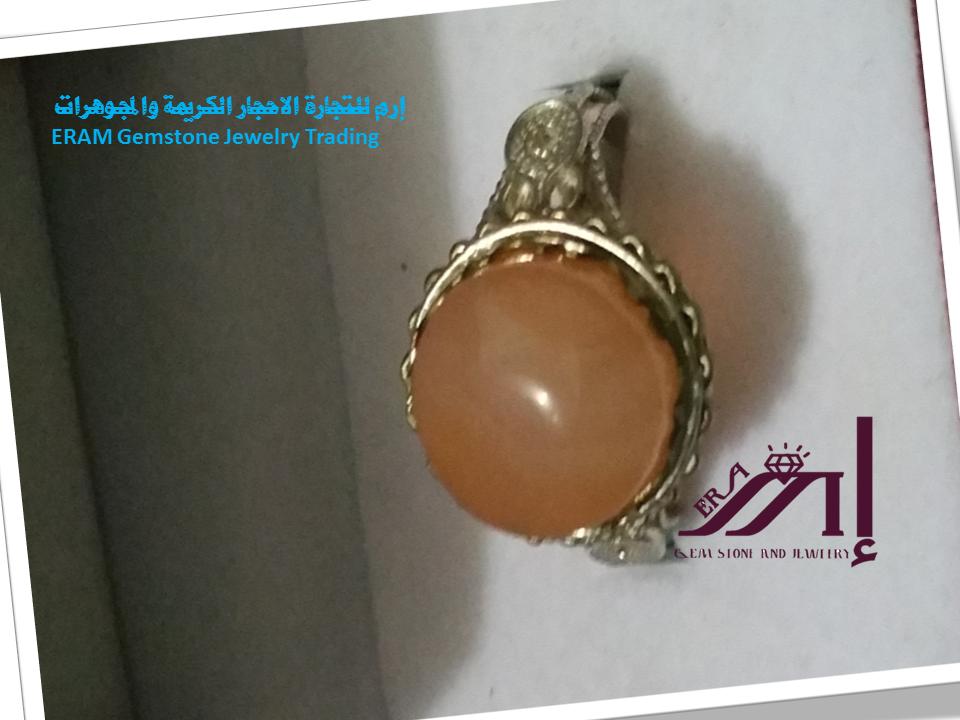 خواتم عقيق نسائي ليموني طبيعي 100 Onyx Agate Gemstone Jewelry Gemstones Jewelry