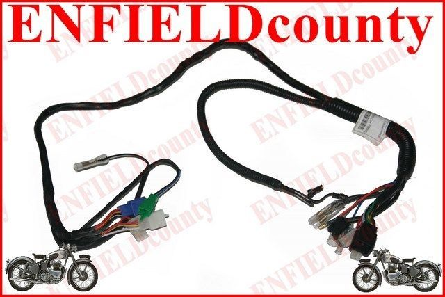new royal enfield electra e s left hand 5 speed complete wiring new royal enfield electra e s left hand 5 speed complete wiring harness 146926