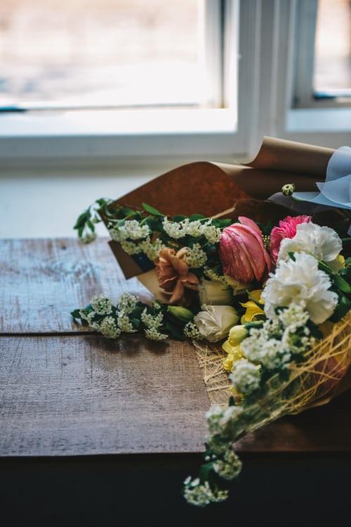 احلى بوكيه ورد احلى واجمل بوكيه ورد 2020 Zina Blog Pink Flower Bouquet Plants With Pink Flowers Pink Flowers