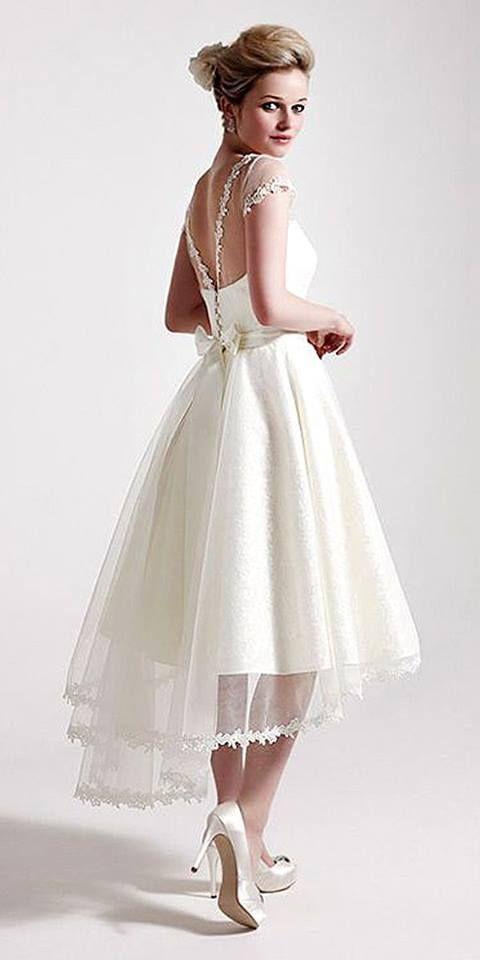 49 wunderschöne kurze Brautkleider für herrliche Bräute zu sein ...