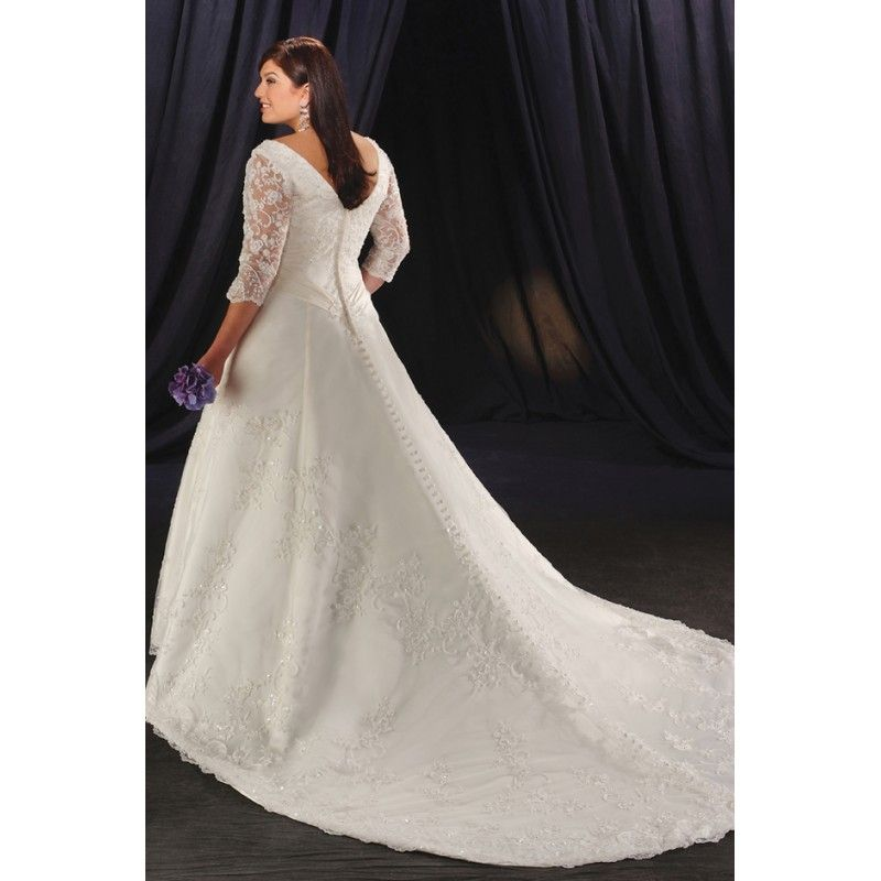 Cutethickgirls Inexpensive Plus Size Wedding Dresses 32