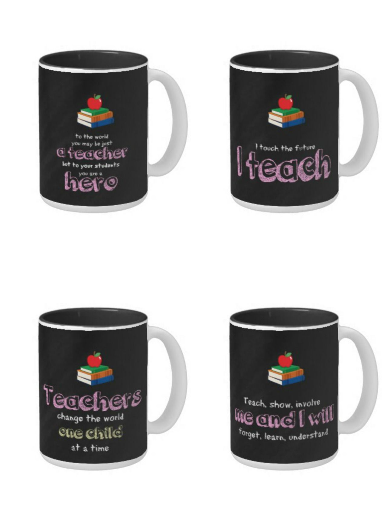#teacher #giftideas #quote #mugs available in different products with 2 text colors (blue & red) Check more at www.zazzle.com/celebrationideas/teacher