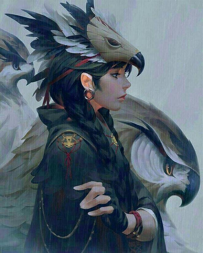 Photo of ✔ Anime Wolf Female Art #bakugou #bnha #bokunoheroacademia