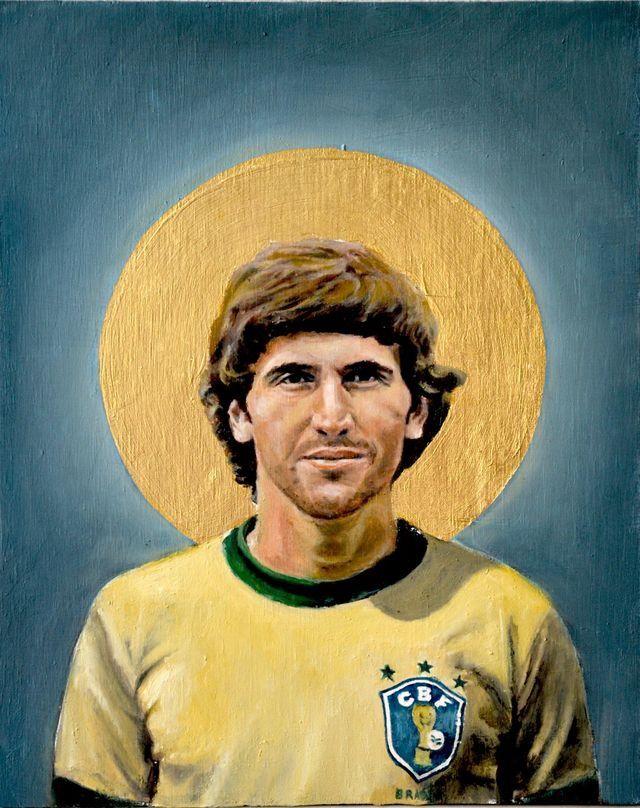 Zico Of Brazil Wallpaper Desenho Futebol Futebol Arte Lendas Do Futebol
