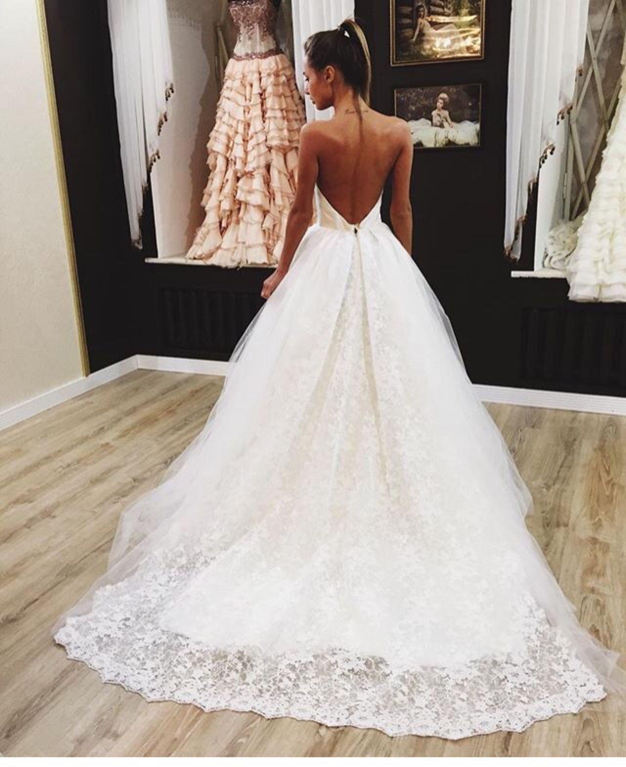Pinterest Alessemanuele Wedding Dress Tumblr Train