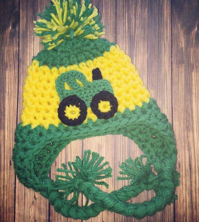 Baby Hat Pattern , Owl Hat Pattern, Crochet Newborn hat , Newborn to ...