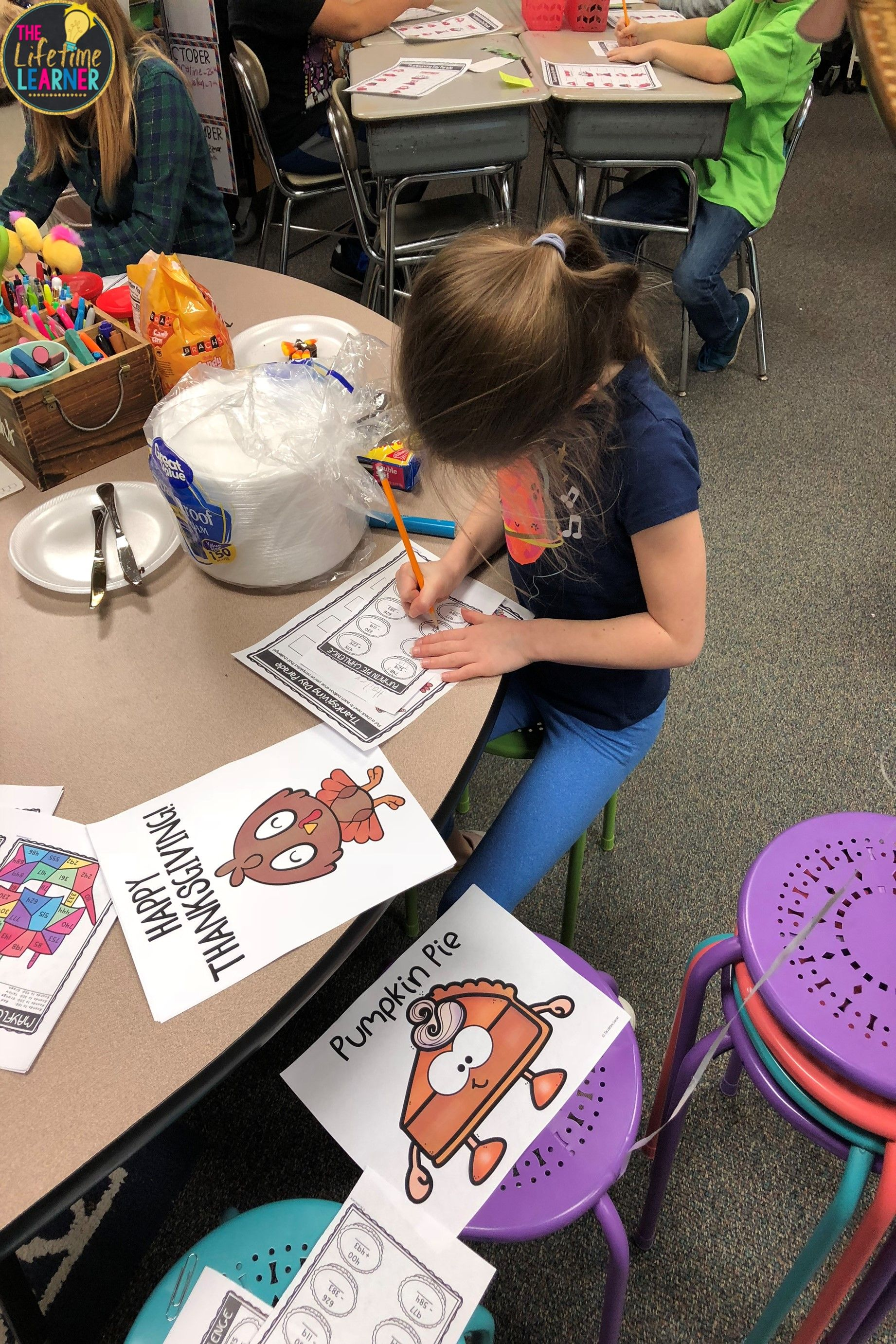 Thanksgiving Classroom Transformation