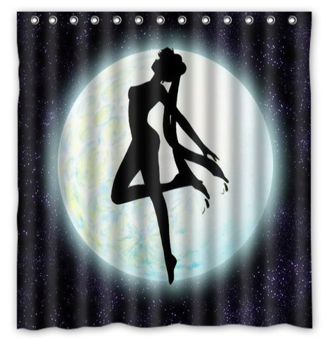 11 Sailor Moon Accessories That Will Give You Moon Power With Images Sailor Moon Moon Accessories Custom Shower Curtains