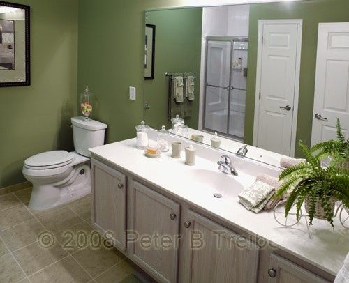 Green Bathroom with Modern and Cool Design Ideas Green bathroom