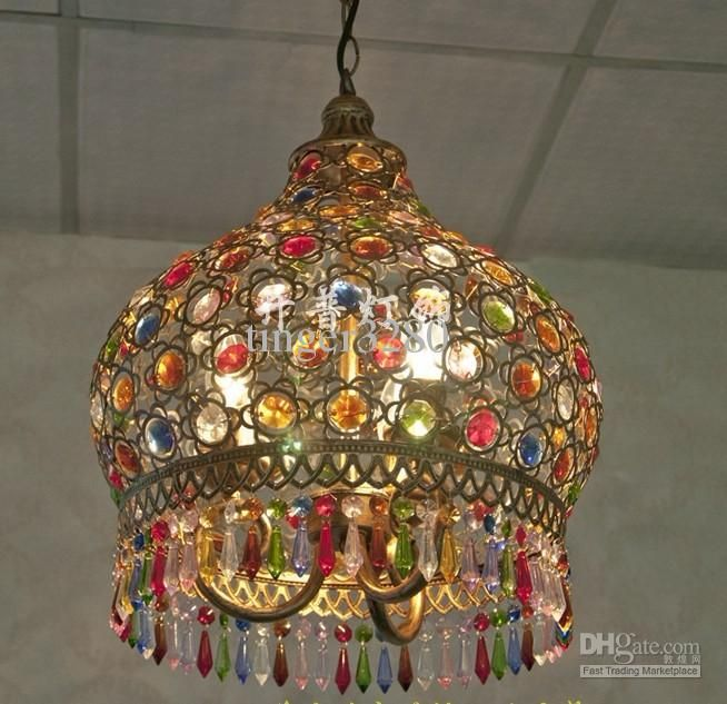 mediterranean style lighting. Bohemia American Country And Mediterranean Style Lighting Lamps Bedroom Living Room Restaurant Lamp L