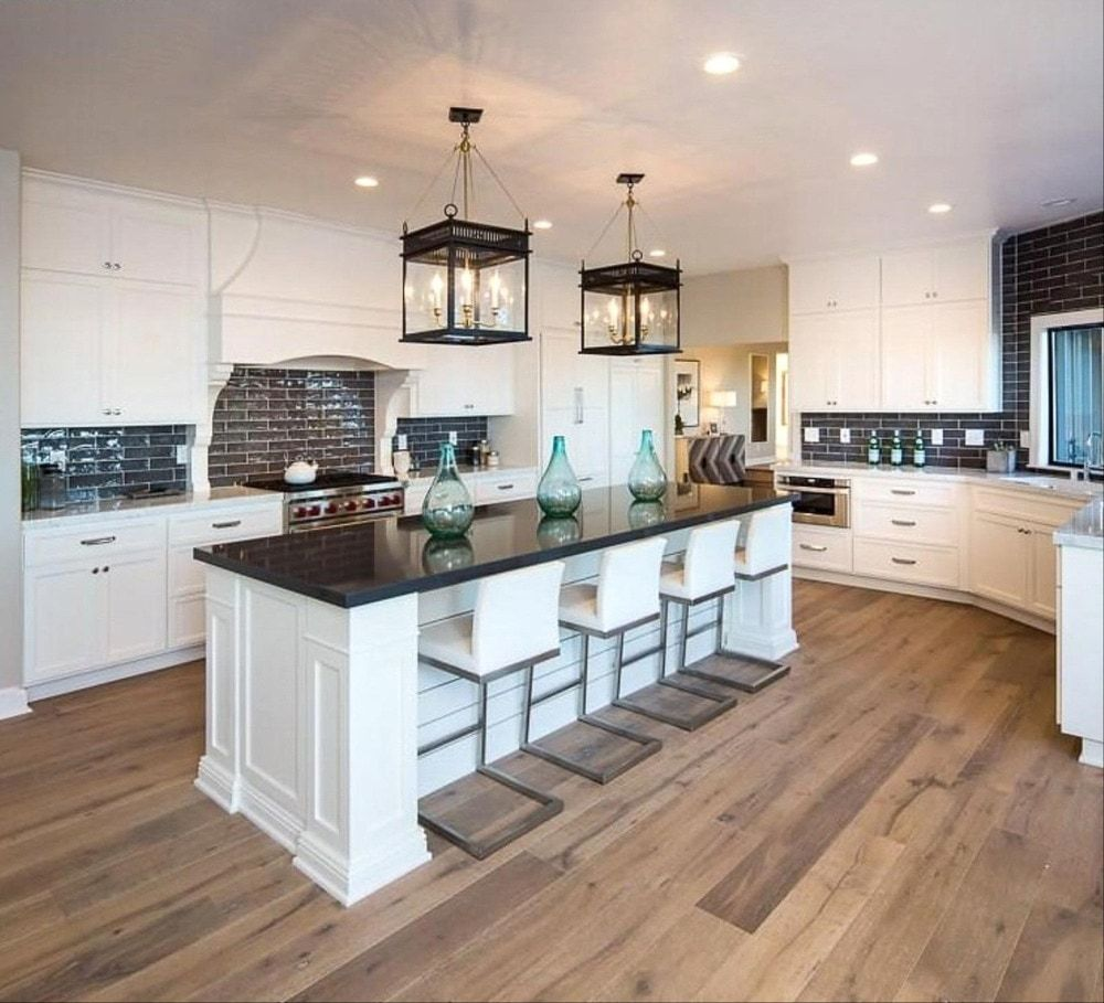 Install Floors Or Cabinets First Kitchen Reno Tips Engineered Hardwood Kitchen Design Kitchen Renovation