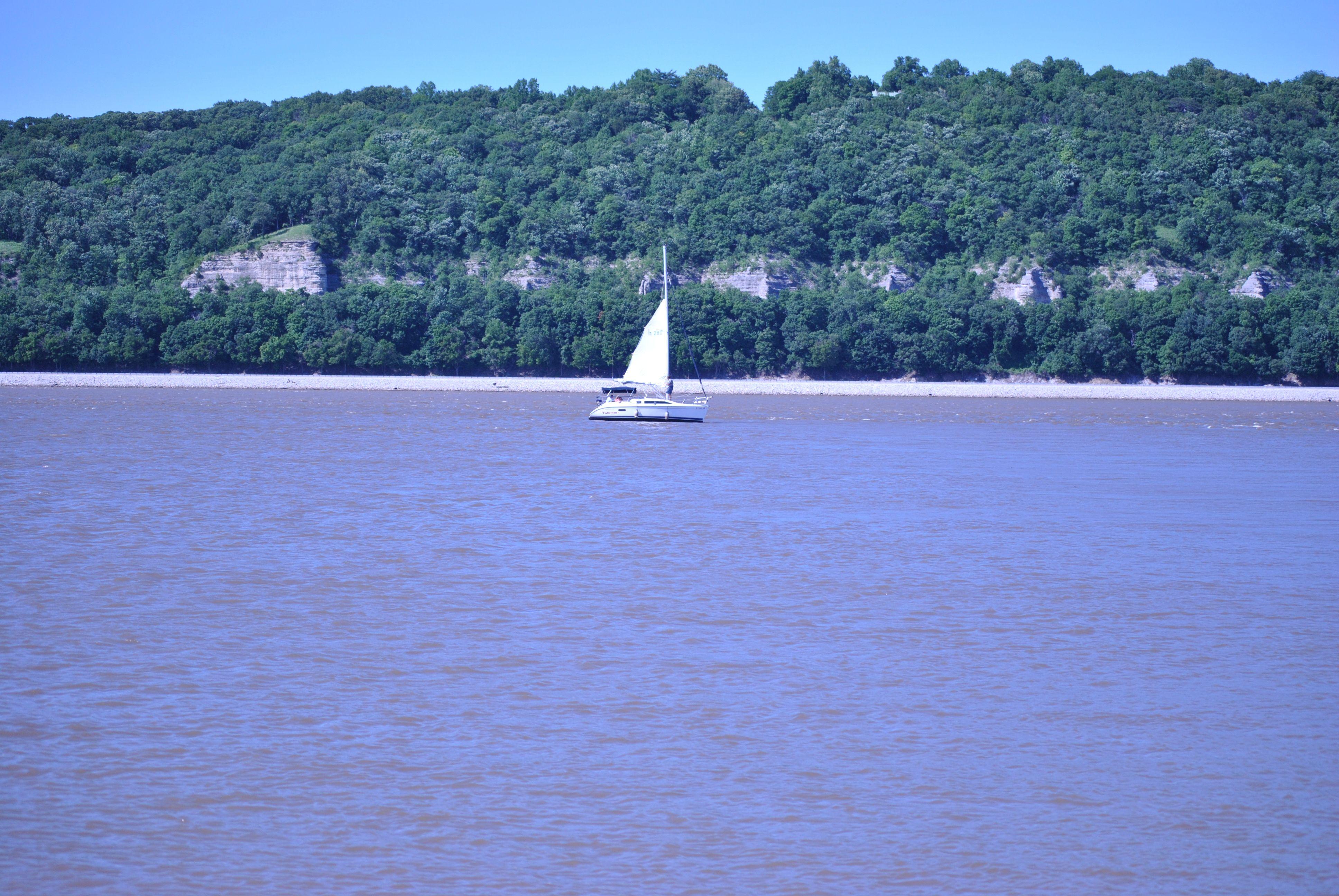 Sailing the Blue Lake