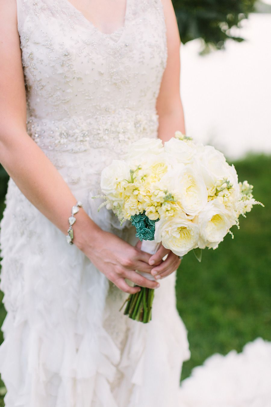 Photography: M Three Studio - mthreestudio.com  Read More: http://www.stylemepretty.com/2014/06/05/lakeside-al-fresco-wedding/
